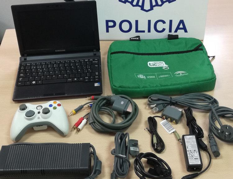2017-09-30 Algeciras Detenido robo hospital3