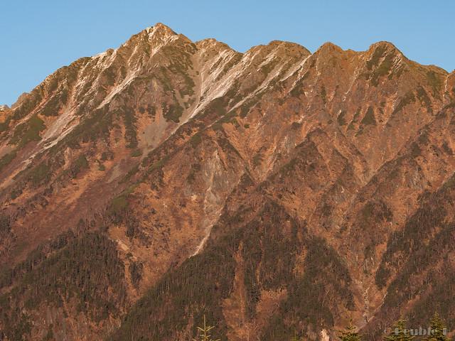 Shinhotaka Ropeway 2017.10.27 (34) Mount Nishihotaka (Nishihotaka-dake)