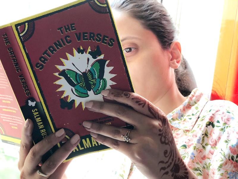 Vermeer's Woman with Salman Rushdie's The Satanic Verses