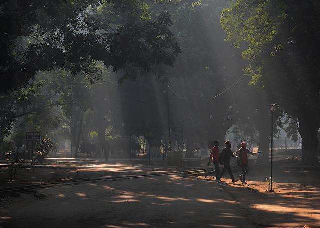 Sunrise in Patna, Nikon D7100, Sigma 70-300mm F4-5.6 DG OS