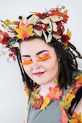 Bolton College - Beauty Showcase Participant Shot