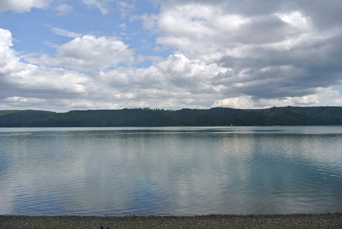 Olympic Mountain Dreams day 4 - Summer clouds hovering over Hood Canal