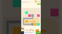 Puzzledom CONNECT Level 48 to 50 Game Novice A Complete Lines In Mutiple Colours Gameplay   OVAL