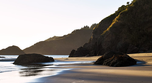 sunset goldenhour pacificocean collegecove trinidad california seascape seashore beach humboldtcounty