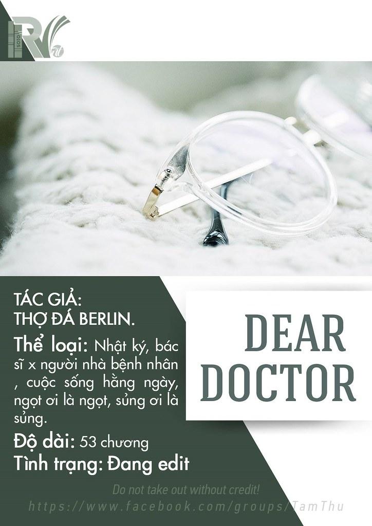 Dear doctor - Báo cáo bác sĩ - Thợ đá Berlin