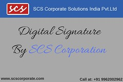 Digital Signature in Chennai - SCS