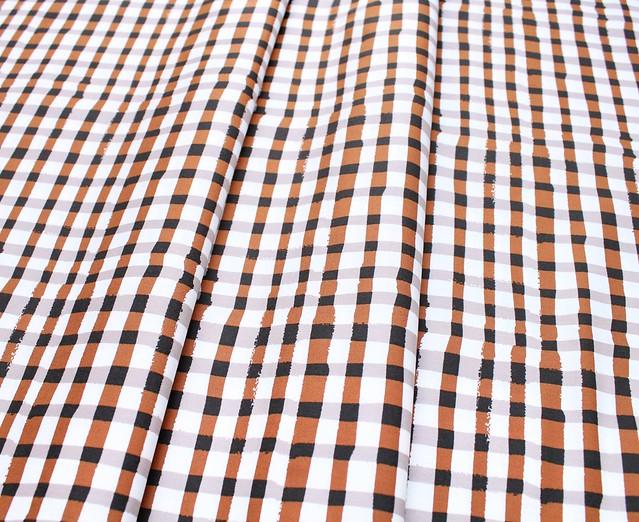 Art Gallery Fabrics Lambkin Wooly Umber