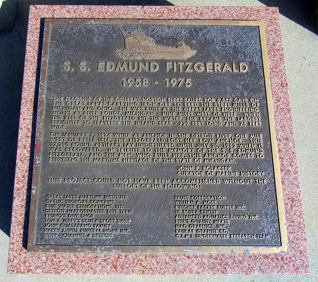Edmund Fitzgerald Memorial