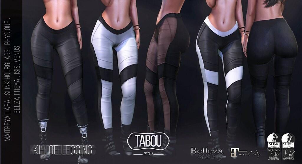 TABOU. Khloe Legging - TeleportHub.com Live!