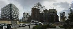 New US Embassy and residential development, Nine Elms, London, October 2017