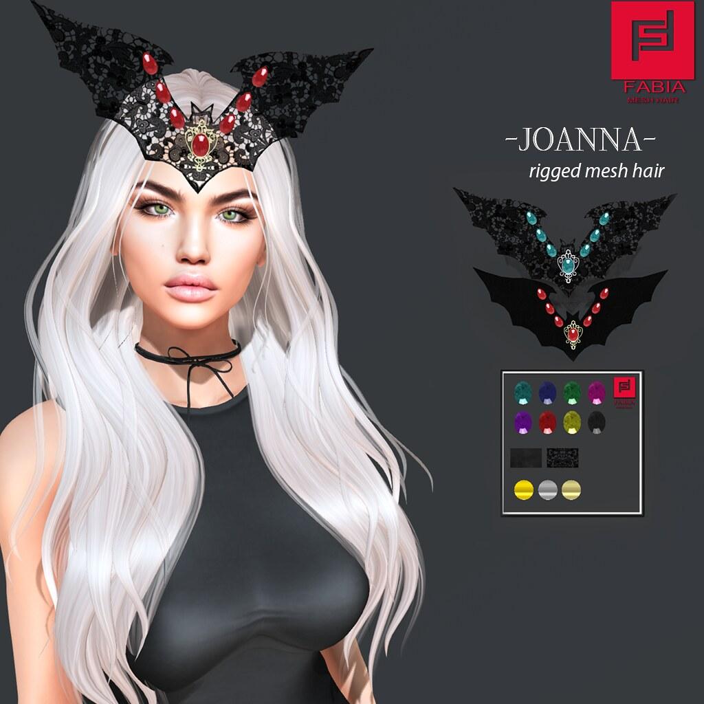-FABIA- Mesh Hair   <Joanna>