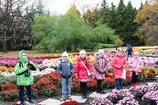 Відвідування ботанічного саду 2-А кл. 25.10.17