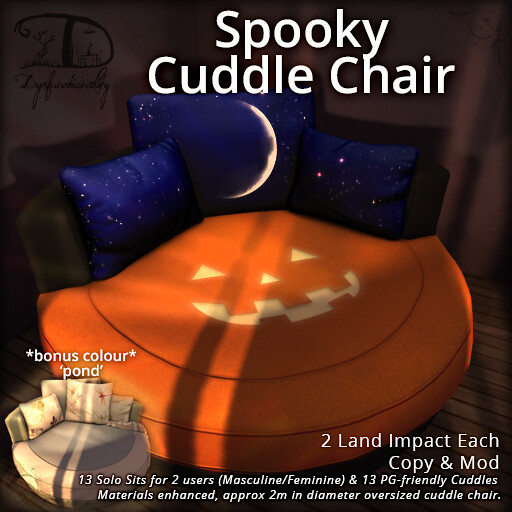 Spooky Cuddle Chair – Hocus Pocus!