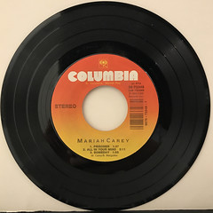 MARIAH CAREY:VISION OF LOVE(RECORD SIDE-B)