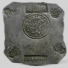 1713 Landau Siege of French Troops obverse