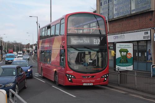 Go-Ahead London WVL342 LX59DFA