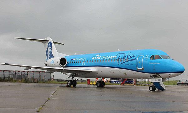 KLM Fokker 70 (KLM)