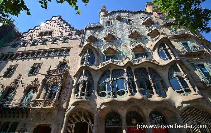 Casa Batllo of Barcelona