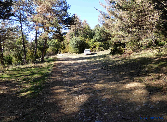 Solsonès 2017 - Exc 05 - Pla de Busa -05- Pla del Rial -11- Parking para ir al Capolatell