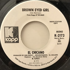 EL CHICANO:BROWN EYED GIRL(LABEL SIDE-A)