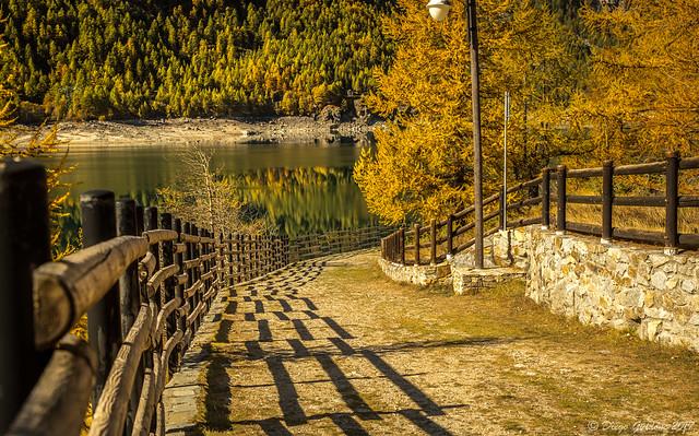 Autunno sul Lago di Ceresole Reale