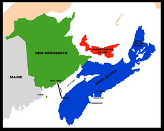 Map Of Maine Us And The Canadian Maritimes 2017 The Map Flickr