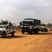 UNAMID peacekeepers provides protection to WFP convoy from East to South Darfur
