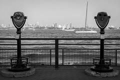 Liberty Island Sailboats.