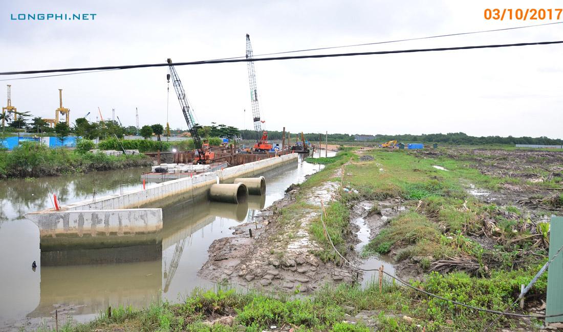 Khu đất dự án công viên Mũi Đèn Đỏ - Sài Gòn Peninsula của Vạn Thịnh Phát 3/10/2017.