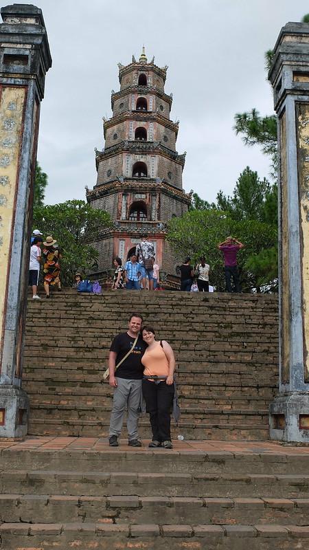 Una pagoda en honor a la dama que se chivó