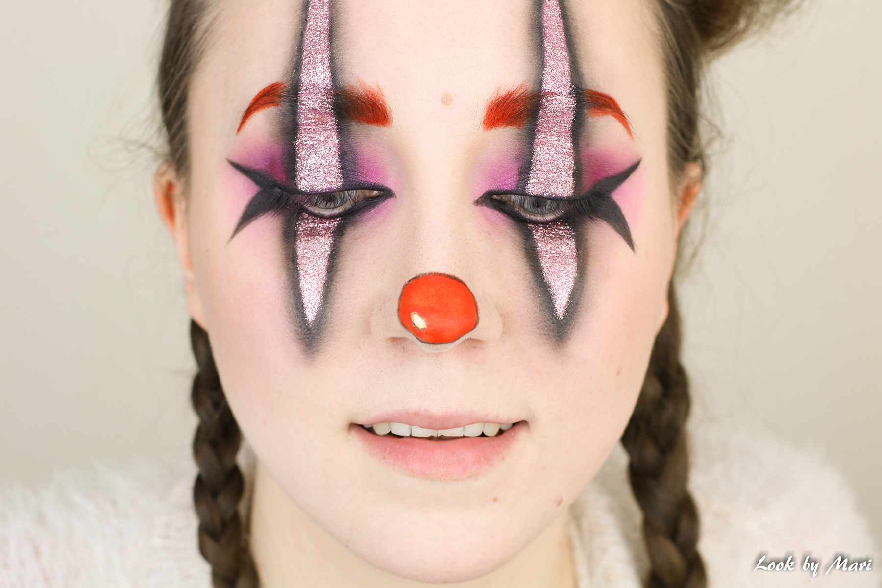 12 clown eyebrows red eyebrows tutorial inspo ideas blog