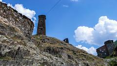 Charakterystyczne wieże w Ushguli.