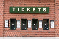 Ticket counters at Wrigley Field