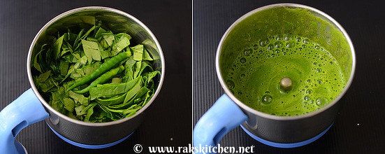 Spinach-murukku-step2