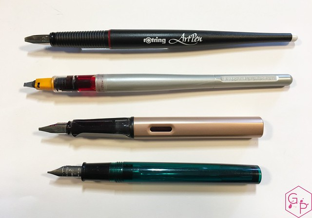 Review Rotring ArtPen Calligraphy Set @GoldspotPens 5