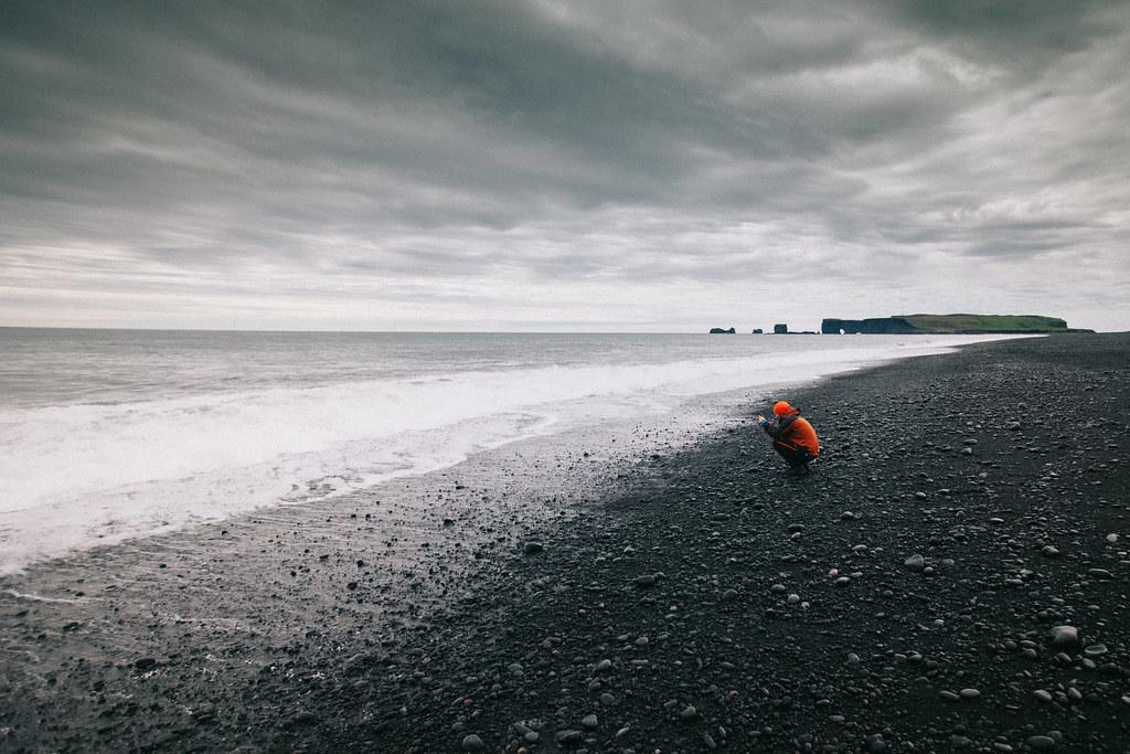Vík ja Reynisfjara Islanti