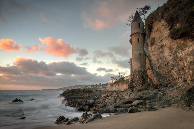 Pirate Tower at Victoria Beach