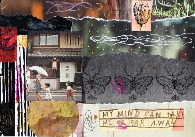 Postcard my mind