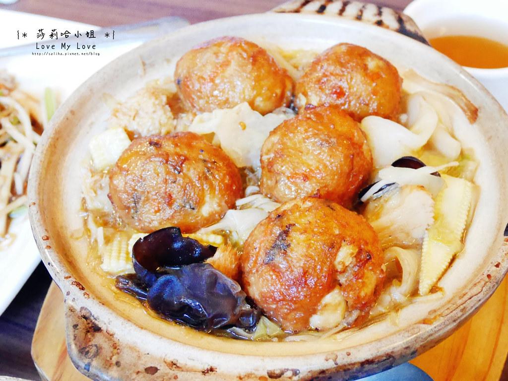 台北士林站好吃素食中式料理餐廳推薦毫光餐飲回田蔬苑 (1)