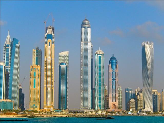 Dubai Towers, Nikon COOLPIX S9500