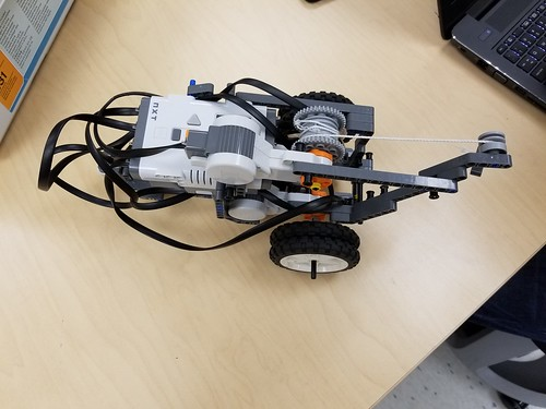 Atlas stones robot - early revision
