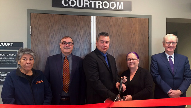 New courthouse opens in Fort Vermilion - Oct. 27, 2017