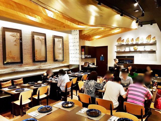 Sawadee Thai Cuisine Restaurant Interior