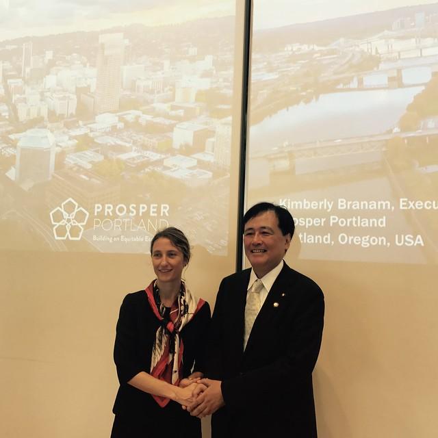 Oregon Delegation to Japan