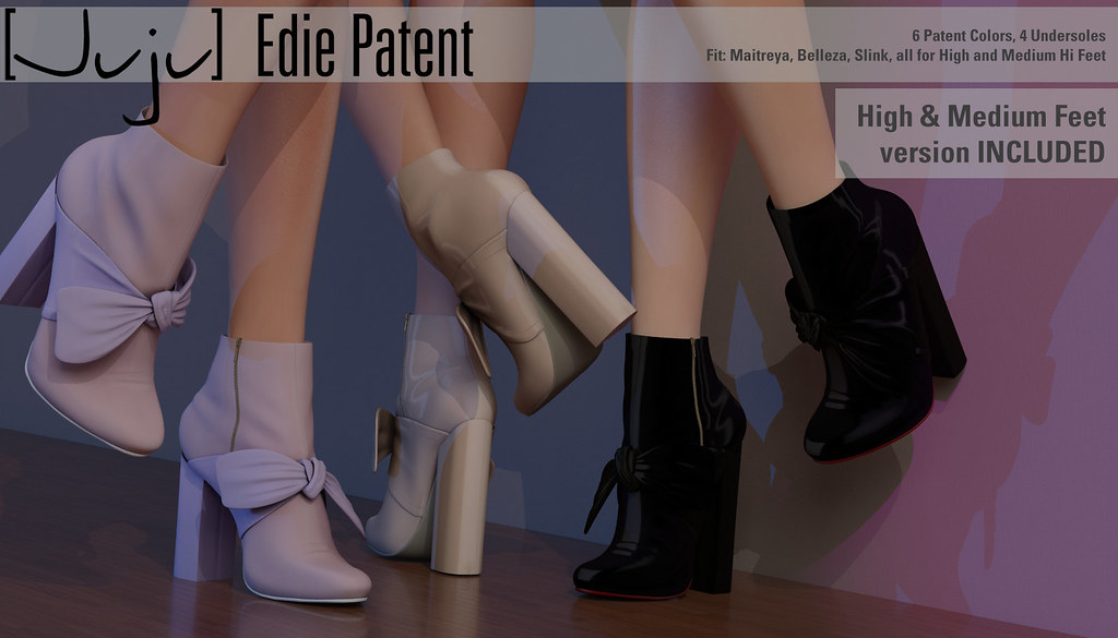 [Juju] Edie (patent) for Shoetopia