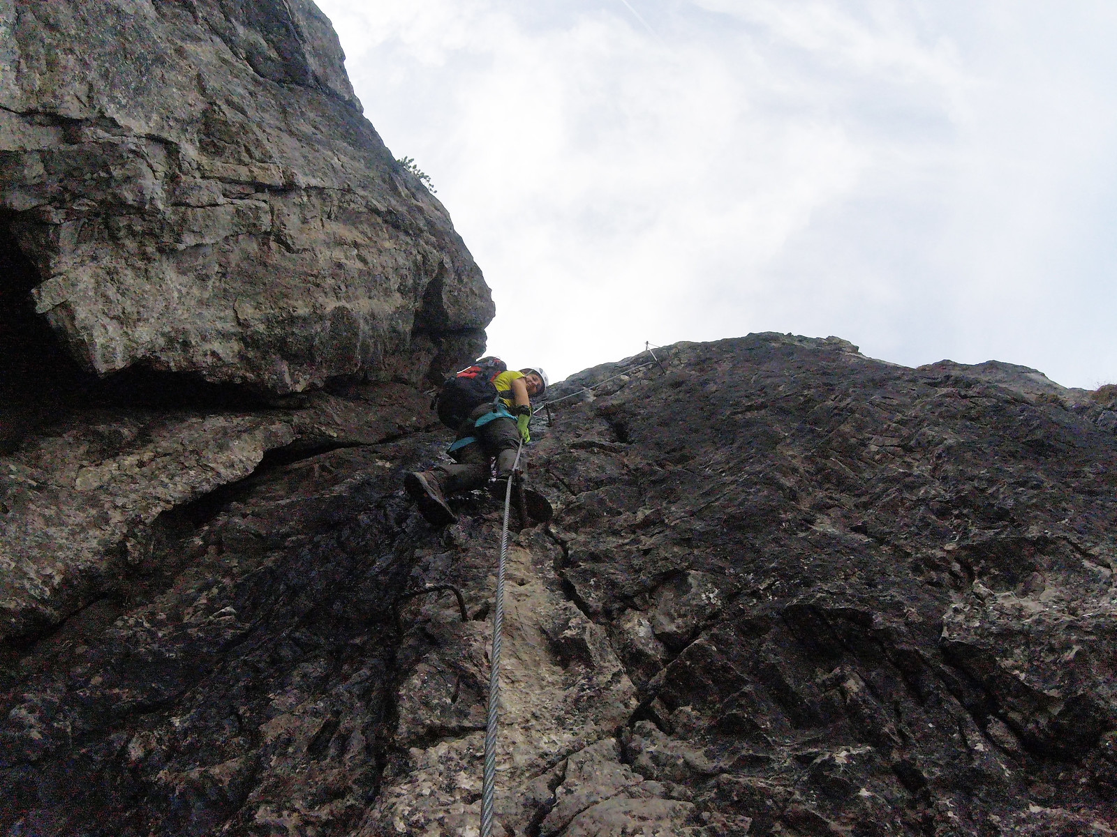 Klettersteig Kanzelwand : Zweiländer klettersteig kanzelwand else