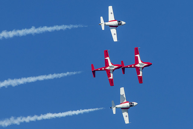 Snowbirds  Canadian Forces 431 Air Demonstration Squadron