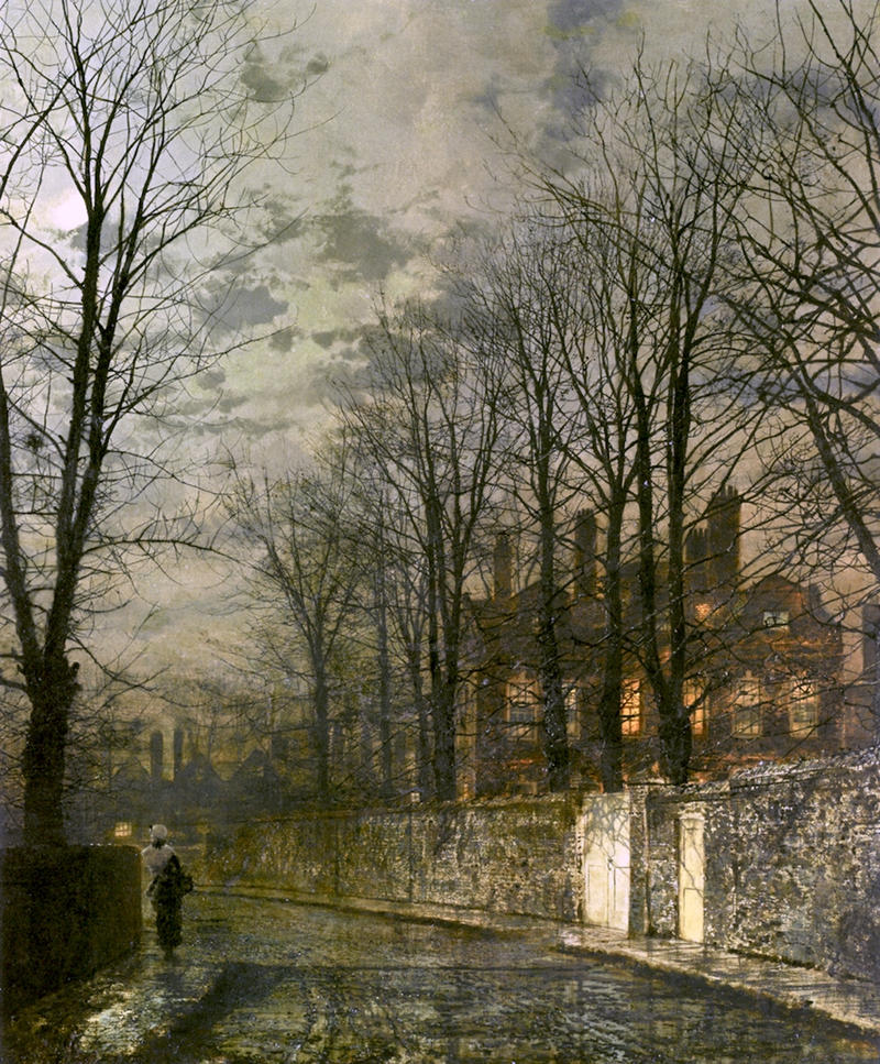 Heaven's Lamp by John Atkinson Grimshaw, 1886