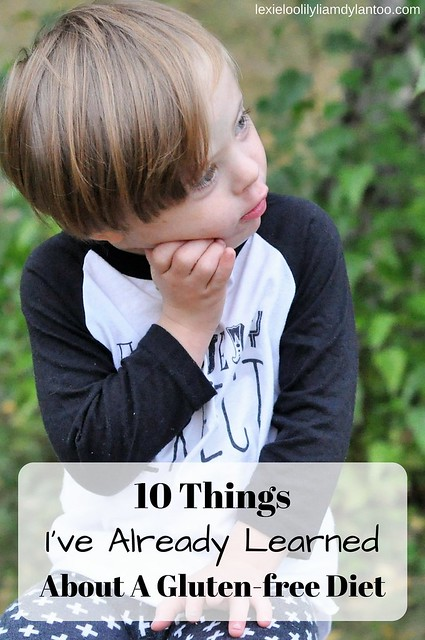 10 Things I've Already Learned About A Gluten-free Diet #glutenfree #celiacdisease #downsyndrome