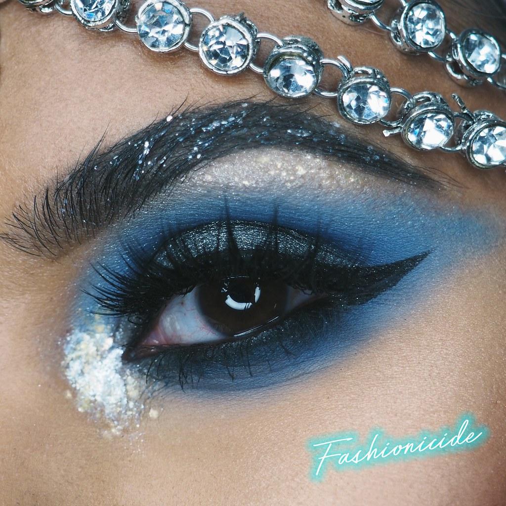 Illamasqua Embellished Broken Eye Gel Gold Silver